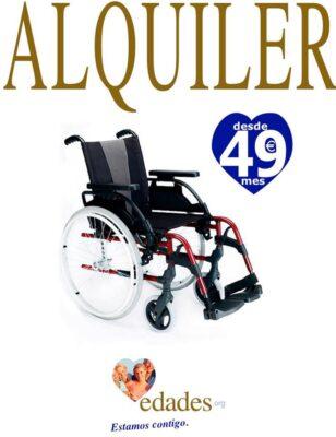 Alquiler sillas de ruedas
