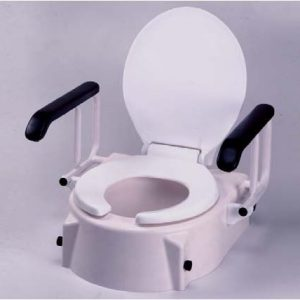 Alza wc inclinable y reposabrazos